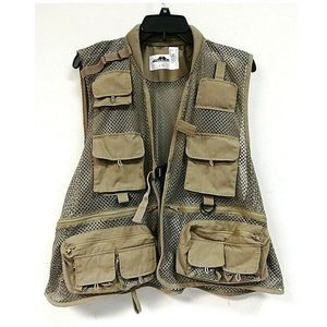 Podium Men's Fly Fishing Vest, L/XL